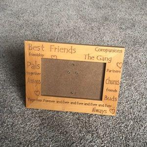 Best friends 4 x 6 frame